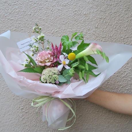 seasonal bouquet(花束) : spring 【¥3,000】