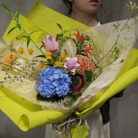 seasonal bouquet(花束) : spring 【¥8,000】