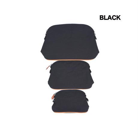 エルメス風・ファブリックバッグSサイズ/Hermes風/ポーチ/バッグインバッグ/Lサイズのみストラップ付き/SB