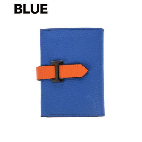 エルメス風・高級本革 名刺入れ/Hermes風/カードケース/ビジネス名刺入れ/2折りカードケース/トーゴ牛革/SB