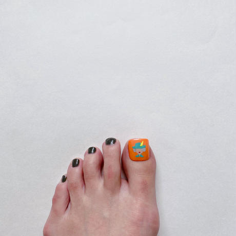 ONE DAY CHIP FOR FOOT /きせかえ親指アートチップ [単品] /Mサイズ
