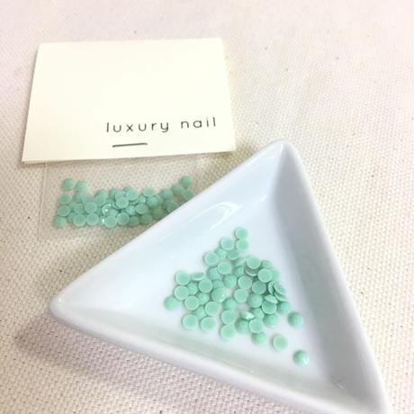 luxurynail セレクトパーツ /カジュアル カラーストーン【 no.7 /チョコミント/3mm/50P[AG-2008]  】