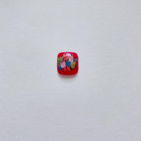 ONE DAY CHIP FOR FOOT/  ペイントアート[01 レッド]/きせかえ親指チップ [単品]