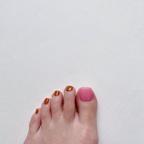 ONE DAY CHIP FOR FOOT/ ワンカラー[06 シアーピンク]/きせかえ親指チップ [単品]