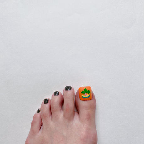 ONE DAY CHIP FOR FOOT /きせかえ親指アートチップ [単品] /Lサイズ