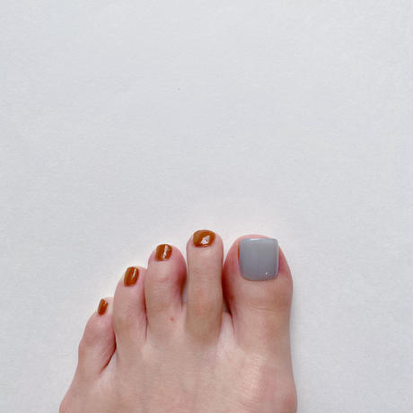 ONE DAY CHIP FOR FOOT/ ワンカラー[02 シアーブルー]/きせかえ親指チップ [単品]