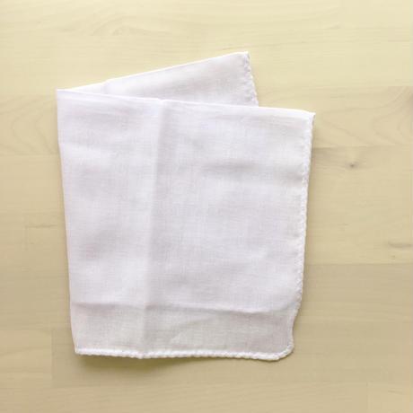 カラーガーゼハンカチ cotton100%  【 lavender 】[NT-1118]