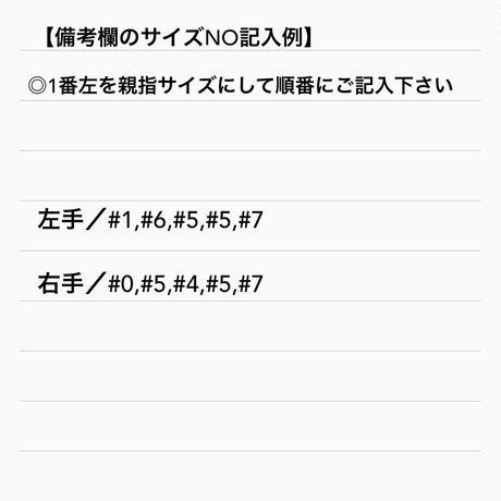 ネイルアートチップ  / ハンド [NO. 01 ]