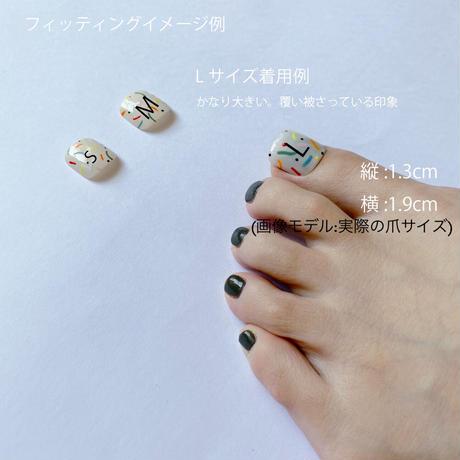 "ONE DAY CHIP FOR FOOT "" ICHIGO ICHIE ""/きせかえ親指チップ ""イチゴイチエ""  [単品] /Lサイズ"