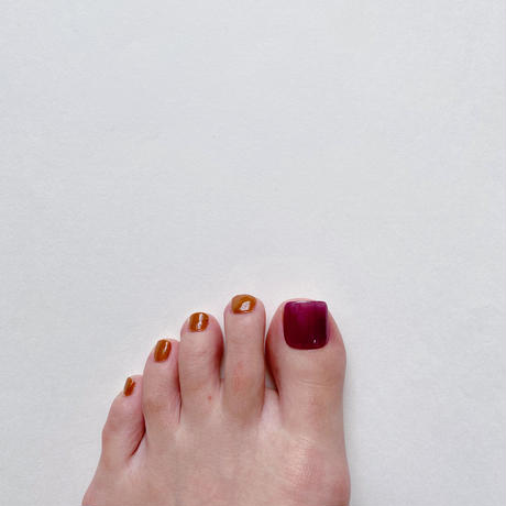 ONE DAY CHIP FOR FOOT/ ワンカラー[04 シアーボルドー]/きせかえ親指チップ [単品]