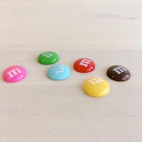 luxury nail original セレクトパーツ/colorful happy chocolate6色1セット 【B-0008】