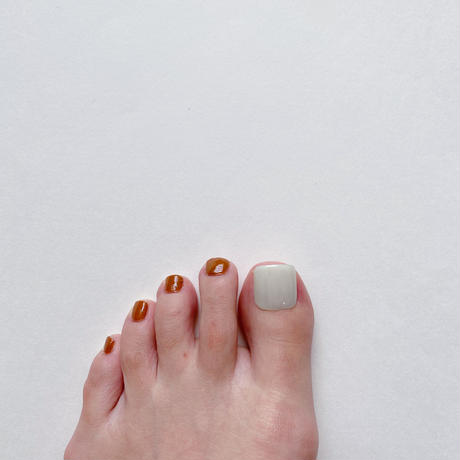 ONE DAY CHIP FOR FOOT/ ワンカラー[05 シアーミント]/きせかえ親指チップ [単品]