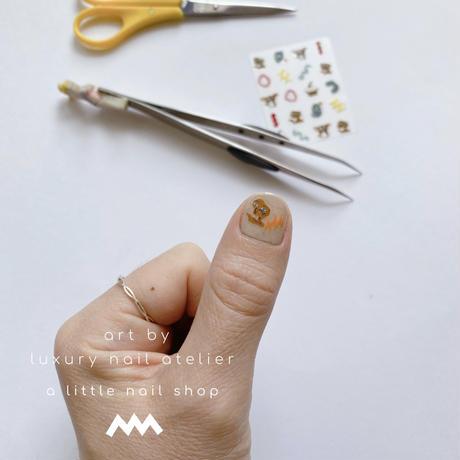 [ラスト1点]オリジナルネイルステッカー/⑥sneakers/  [ST-06]
