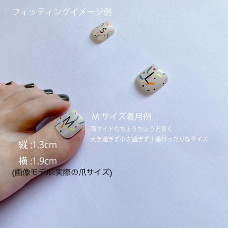 "ONE DAY CHIP FOR FOOT "" ICHIGO ICHIE "" /きせかえ親指チップ ""イチゴイチエ""[単品] /Mサイズ"