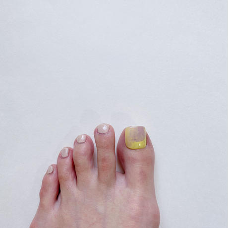 ONE DAY CHIP FOR FOOT/ ニュアンス[03イエロー]/きせかえ親指チップ [単品]
