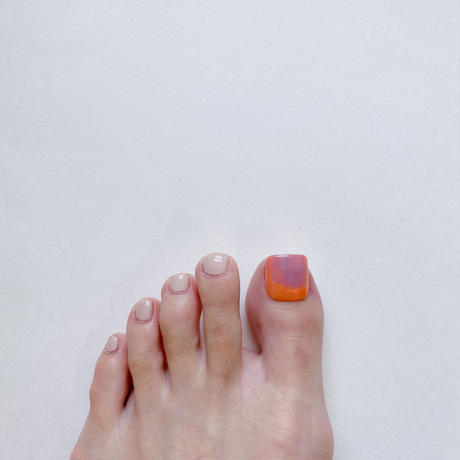 ONE DAY CHIP FOR FOOT/ ニュアンス[01コーラル]/きせかえ親指チップ [単品]
