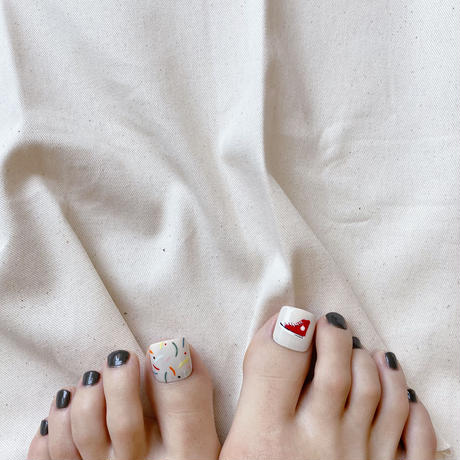 ONE DAY CHIP FOR FOOT /きせかえ親指アートチップ [単品] /Sサイズ