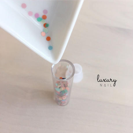 "luxury nail select ホログラム "" ""Scandinavian Mix"""" 2mm/[AG-1103]"