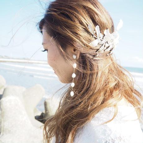 5pearl  pirece&earring