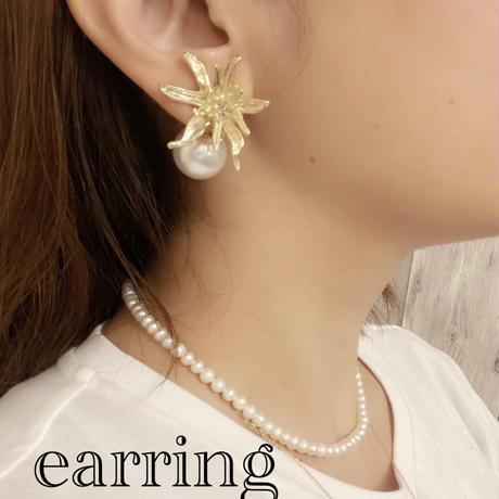lily pierce&earring