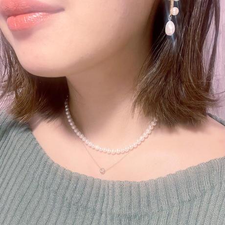 mini pearl neckless