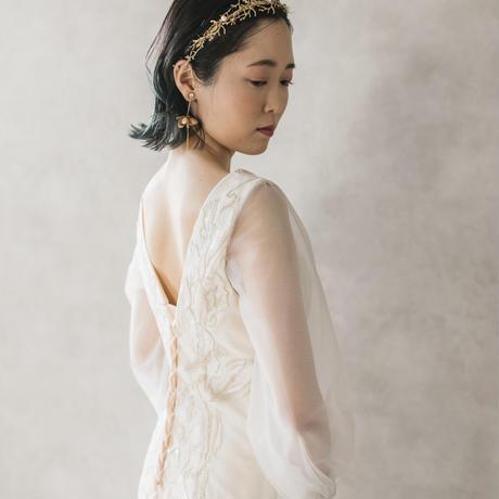 coral head dress