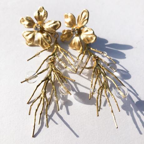 pine pirce&earring