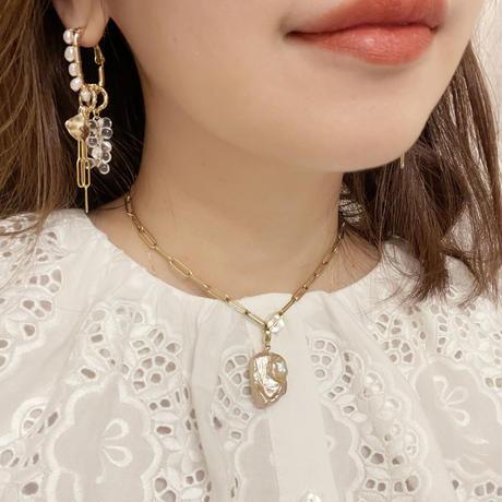 eclat pierce&earring