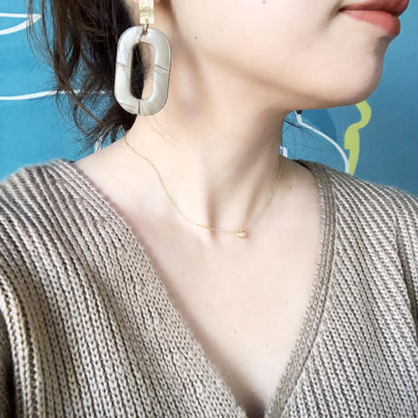 lether pirece&earring