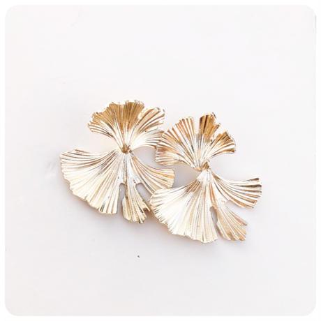 ginkgo pierce&earring