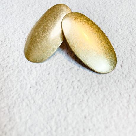 gold plate pierce&earring