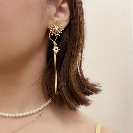 shine pierce&earring