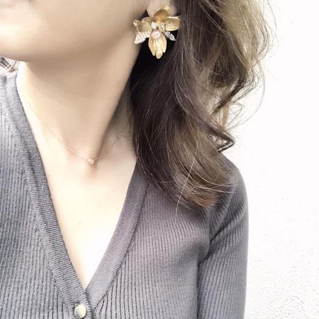 Nostalgia pierce&earring