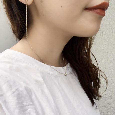 7mm pearl pirece&earring