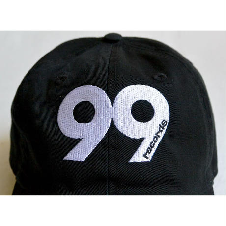 """""""99 records"""" / Washed Twill Low Cap / Black (luz.99.c)"""