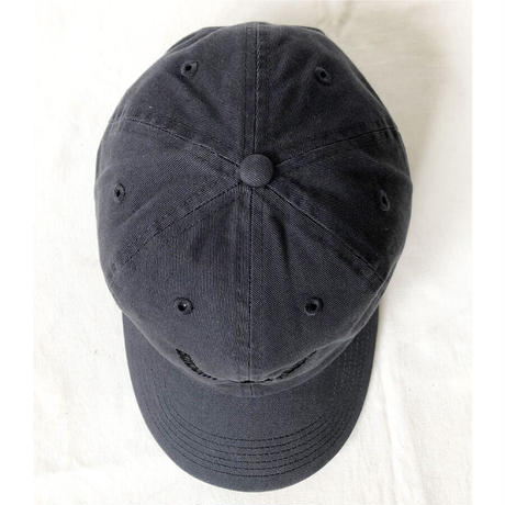 """""""Buddah Records"""" / Washed Twill Low Cap / charcoal gray  (luz.bu.c)"""