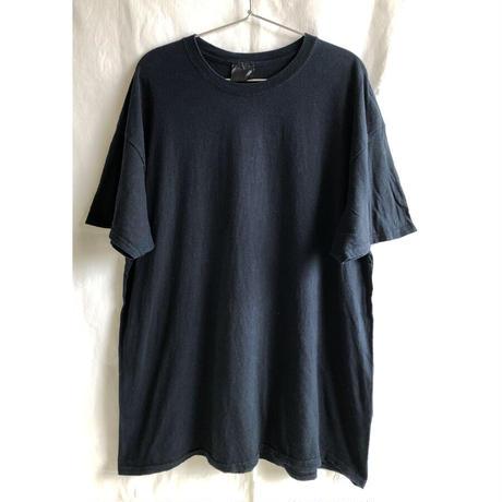 """【90's euro vintage】""""ganesha"""" back print T-shirts  - XL / black-  (OM-216-52)"""