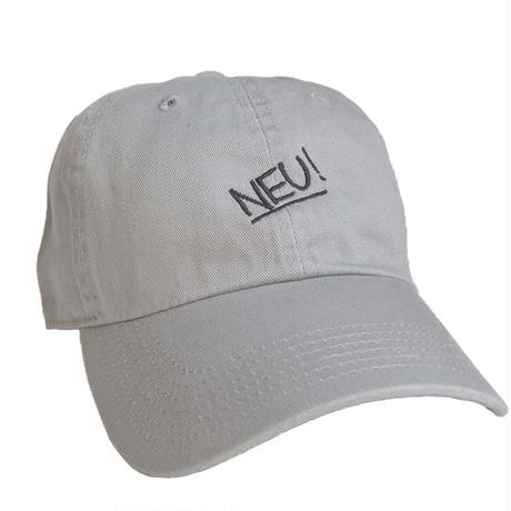"""NEU!"" / Washed Twill Low Cap / gray (luz.neu.g.c)"