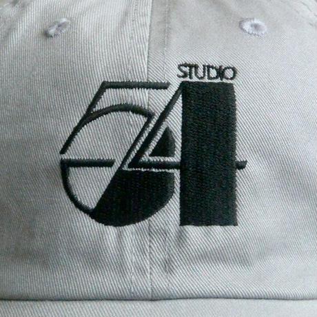 """studio 54"" Washed Twill Low Cap / gray (luz.54.g.c)"