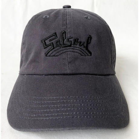 """""""Salsoul Records"""" / Washed Twill Low Cap / olive green (luz.sal.c)"""