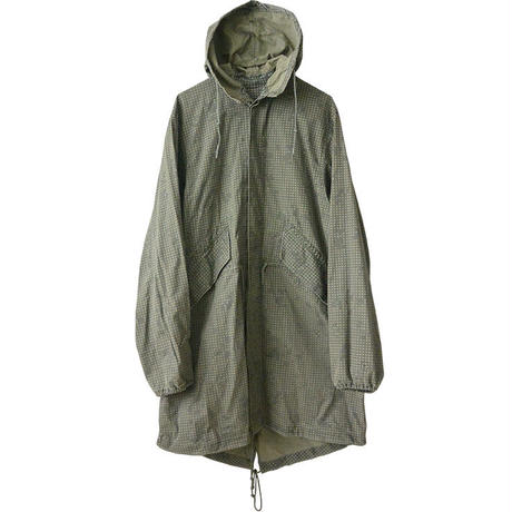"【80's vintage / u.s.army】desert coat parka  ""SELMA APPAREL CORP"" -night  camouflage / s-"
