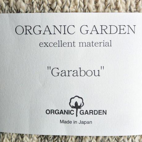 """Restock ! """"organic garden"""" ガラボウ ミドルソックス (チャコール杢) 22-24cm &25-27cm (om_gry)"""