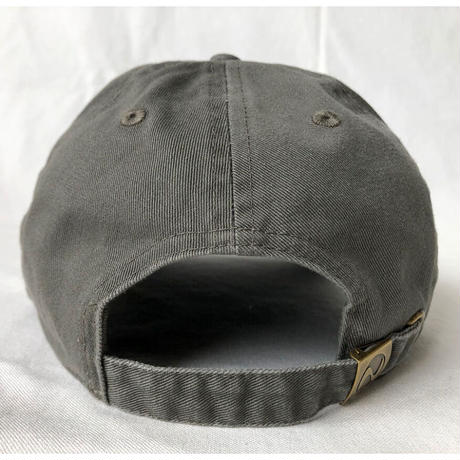 """""""Island Records"""" / Washed Twill Low Cap / olive green (luz.is.o)"""