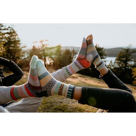"【solmate socks】 crew socks -high desert- ""aloe / S & M size""  (so-c-3)"
