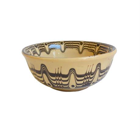 """troyan"" bowl (s) -white- bulgaria hand made/ monotone (tb-sw)"