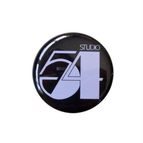 "【u.s.made】""studio 54"" monotone badge -Φ32mm- (nb-011)"