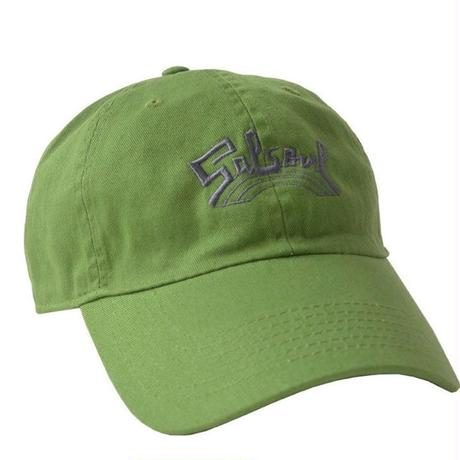 """Salsoul Records"" / Washed Twill Low Cap /  Forest Green (luz.sal.f)"