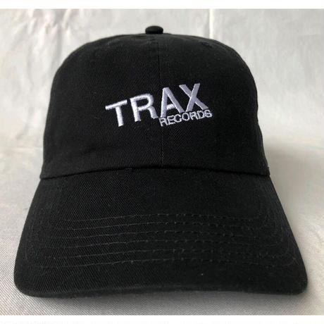 """Trax Records"" / Washed Twill Low Cap / black (luz.tr.b)"