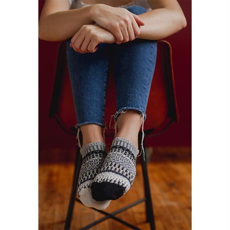 "【solmate socks】 ankle socks ""pepper / S & M size"" (so-a-3)"