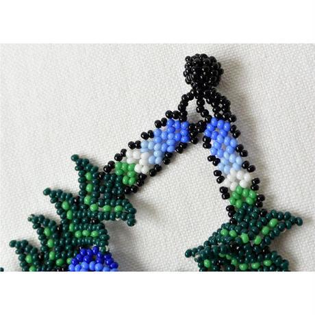 "【vintage / mexico】 ""Huichol / ウイチョル族 "" peyote beads bracelet"